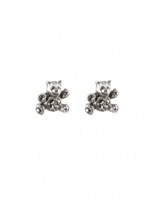 Little Bear Sterling Silver Earring