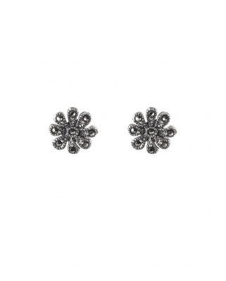 Flower Sterling Silver Earring