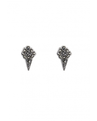 Ice cream Sterling Silver Earring