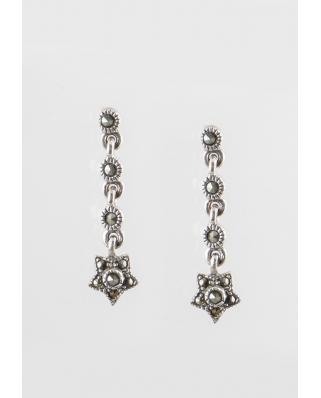 Meteor Sterling Silver Earring