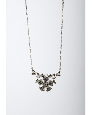 Retro Style Sterling Silver Necklace