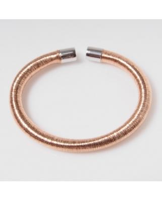 Elastic Rose Gold Vermeil Bracelet
