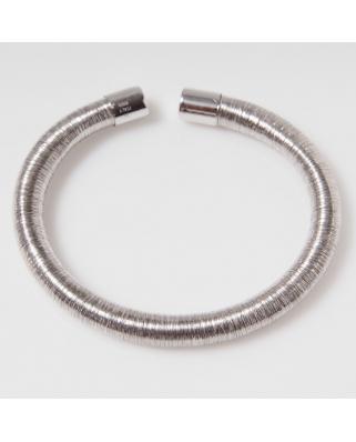 Elastic Rhodium Vermeil Bracelet
