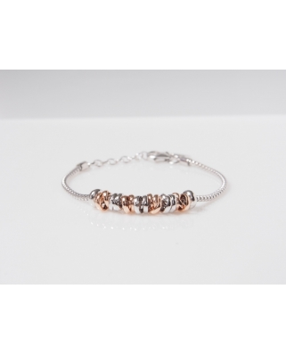 Movable Rose Gold Vermeil Bracelet