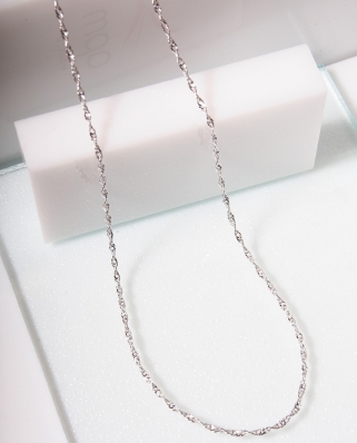 DNA Silver necklace