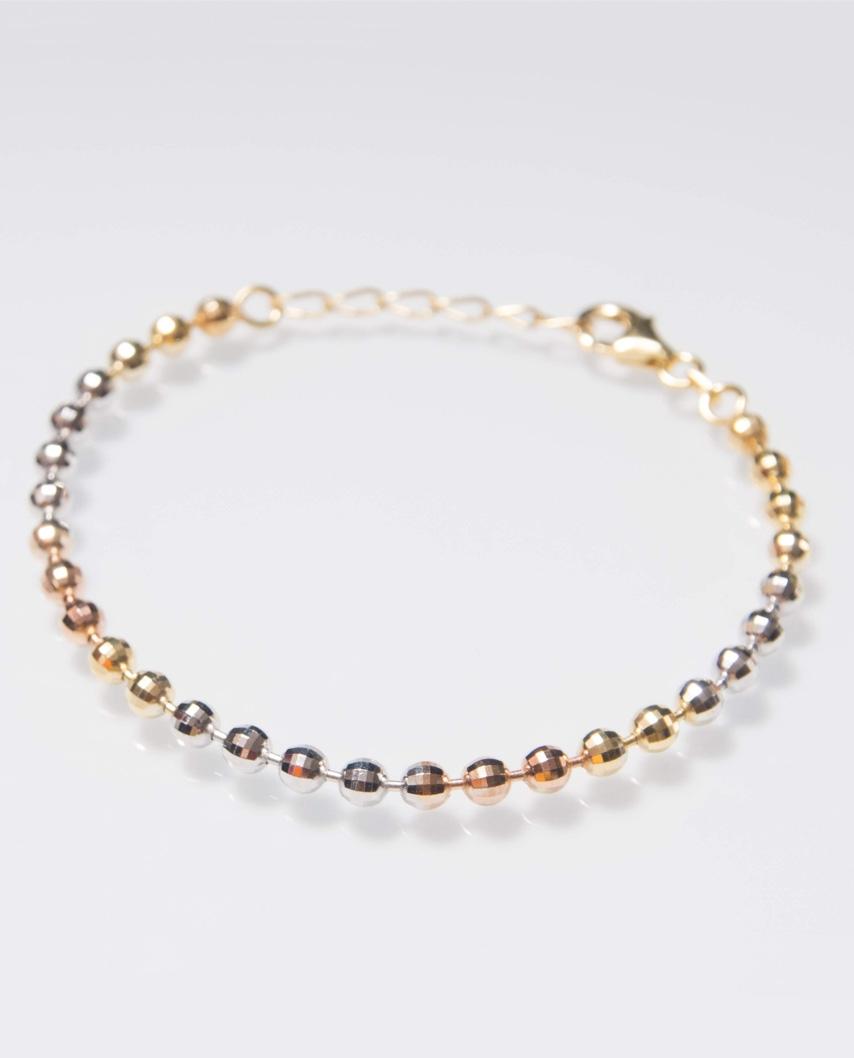 Tri-Color Vermeil bracelet / CYB020