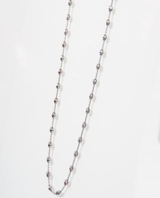 鍍玫瑰金純銀頸鏈