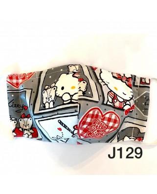 日本布口罩 J129