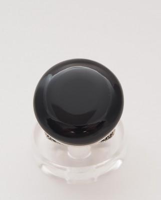 925 Silver Ring / R-419 BLACK